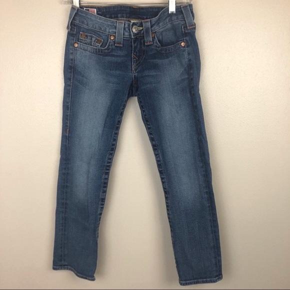 True Religion Denim - True Religion Lizzy cropped jeans